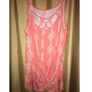 maurices 24/7 crossy neck tank